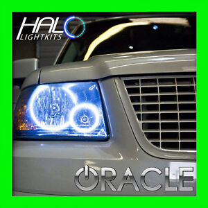 2003-2006 FORD EXPEDITION WHITE LED LIGHT HEADLIGHT HALO KIT by ORACLE