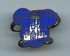 Disney Tokyo Disneyland Castle Kingdom of Dreams & Magic Pin Rare
