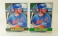 Pete Alonso 2020 Topps Gallery Green Parallel #'d  66 To 99 +Base NM MINT