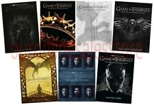 Game of Thrones Season 1-7 Complete DVD Set throwns thones trones thorns trowns