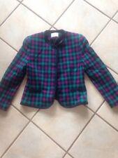 Women's Pendelton Wool Blazer Jacket Petite