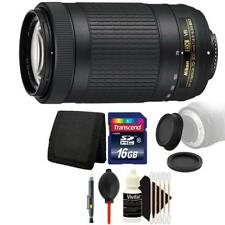 Nikon AF-P DX NIKKOR 70-300mm f/4.5-6.3G ED VR Lens + Top Accessory Kit