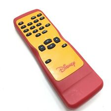 Original OEM Red Disney TV / VCR Remote Control