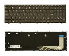 Black Frame US Layout Laptop Keyboard For Lenovo 110-15ISK New
