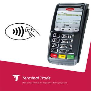 Kartenterminal ec cash Lesegerät günstig mieten das Ingenico ict 220 kontaktlos