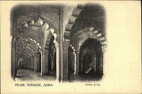 INDIEN Pc India um 1900 AGRA Pearl Mosque Moschee AK Vintage Postcard Asia