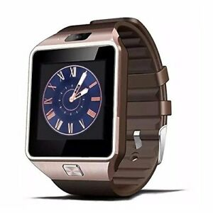 Gold Smart Watch for Samsung Galaxy S7 Edge S8 S9 S10 PLUS Note 8 9 iPhone X XR