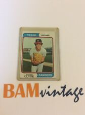 David Clyde RC 1974 Topps Rookie Baseball Card Texas Rangers MLB 🔥⚾️