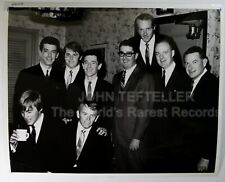 Original 1960's 8x10 Private Photo The Beach Boys with executives at the party