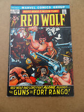 Red Wolf 1 . Marvel 1972 . FN / VF