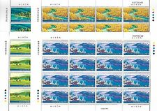 China 2006-16 Kanasi Nature Reserve 4V Full S/S 喀納斯自然保護區