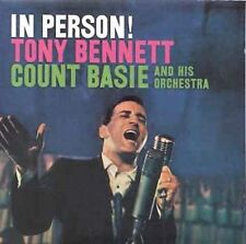 """In Person""! Tony Bennett CD1994 Legacy GOLD COLLECTOR'S EDITION COUNT BASIE"