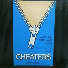"""Cheaters Theater Broadway Window Card Poster 14"""" x 22"""""""