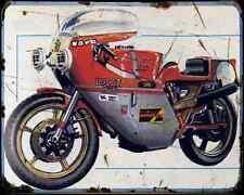 Ducati 860 Bol D'Or 1976 A4 Photo Print Motorbike Vintage Aged