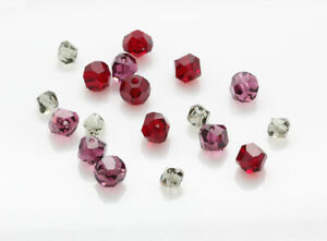 Genuine SWAROVSKI 5603 Graphic Cube Crystal Beads * Different Colors & Sizes