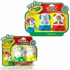 My First Crayola New Crayola Washable Markers Kids Crafts Toddler Toys 4 Pack