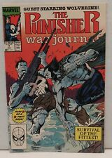 The Punisher War Journal #7. Guest Starring The Wolverine ! Part Two of Two