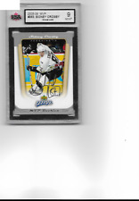 2005-06 Upper Deck MVP #393 Sidney Crosby RC Rookie KSA 9 Graded MINT Penguins