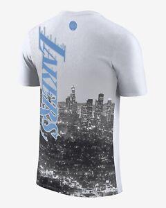 Los Angeles Lakers Courtside City Edition Men's Nike NBA T-shirt, Size Medium