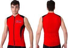 Abbiglimento sportivo da uomo rossi senza maniche