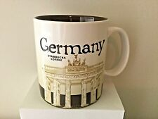 Starbucks City Mug, GERMANY VERSION 1, Global Icon Collection,16oz, DISCONTINUED