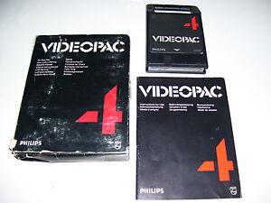 Philips Videopac Game 1980 * 24 AIR SEA WAR * CARDBOARD EDITION
