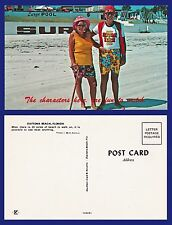 US FLORIDA DAYTONA THE CHARACTERS HERE ARE FUN TO WATCH LOVELY COUPLE CIRCA 1965