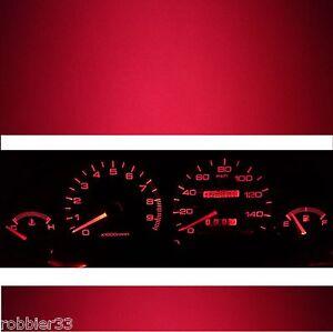 LED KIT for  94-01 Acura Integra DC2 DC4 DB8 Gauge Cluster (RED)