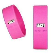 TooLate Uhr - Designuhr von Too2Late - Pink Fuchsia L Too Late Watch Rosa Strand