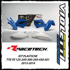 KIT PLASTICHE REPLICA 4 PZ TE-FE 125-250-300-350-450-501 2013-2014 husaberg