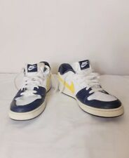 Nike Backboard White Blue Yellow UK 8