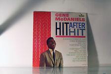 GENE McDANIELS- HIT AFTER HIT - LIBERTY LRP 3258 LP VINYL ALBUM