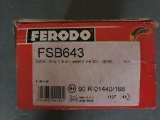 SUZUKI IGNIS ALTO WAGON FERODO FSB643 REAR BRAKE SHOES