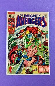 Avengers #66 (1969):  1st Appearance Ultron-6! 1st mention Adamantium!