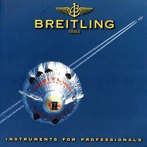 Breitling Uhrenkatalog 2000 10/99 D Katalog catalog watches catalogue montres