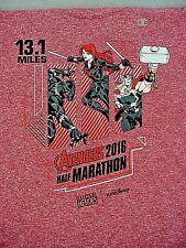 2016 DISNEYLAND Avengers Super Heros Half Marathon T-Shirt - Adult XLarge - NEW