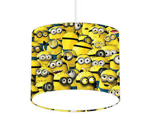 Minions Lampshade - Ceiling or Table lamp - FREE personalisation (if required)