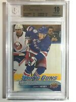 2016-17 Upper Deck Jimmy Vesey Young Guns Canvas Rookie BGS 10 Pristine