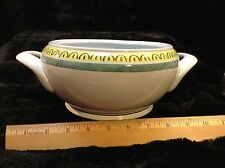 """Crown Band by Arabia of Finland 10"""" Covered Vegetable Serving Bowl (NO LID)"""