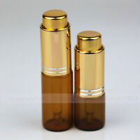 1~100 set 10ml Amber Eye Dropper Glass Bottle Essential Oil Pipette Aromatherapy