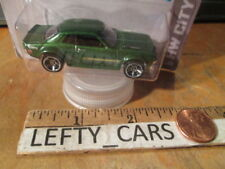 HOT WHEELS '70 Green TOYOTA CELICA HW City 2013 - Long Card - New FOR 2013!