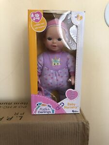 Baby Basics Baby Doll with Unicorn Clothes