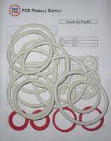 1976 Gottlieb Canada Dry Pinball Machine Rubber Ring Kit