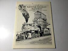 Kettle Valley Railway Railways of Western Canada Volume 1 by Gerry Doeksen 1981