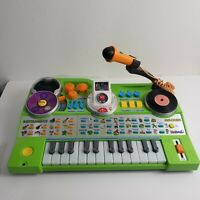 VTech Kidi Jamz Recording Studio DJ Music Center Keyboard - Green