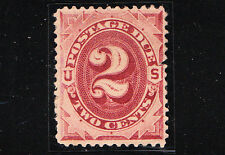 sc#  J16, 2c, red-brown. Postage Due. Mint.