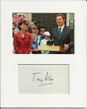 More details for tony blair prime minister signed genuine authentic autograph signature and photo