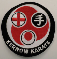 Martial Arts Embroidered Sew On Uniform Patch Kernow Karate