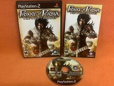 Prince of Persia Two Thrones Playstation 2 PS2 Black Label Game Complete!
