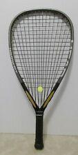 Head Intelligence i165 Racquetball Racquet 3 5/8-NEW HYBRID STRINGS/OVERGRIP